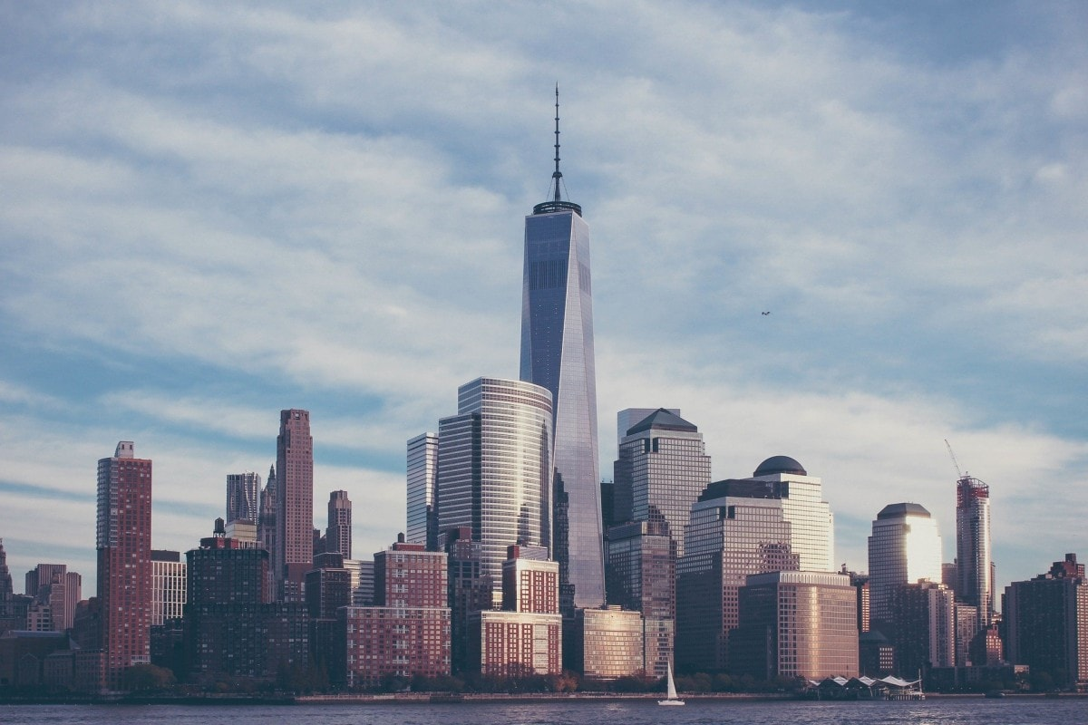 Pictures of american landmarks - here is the One World Trade Center