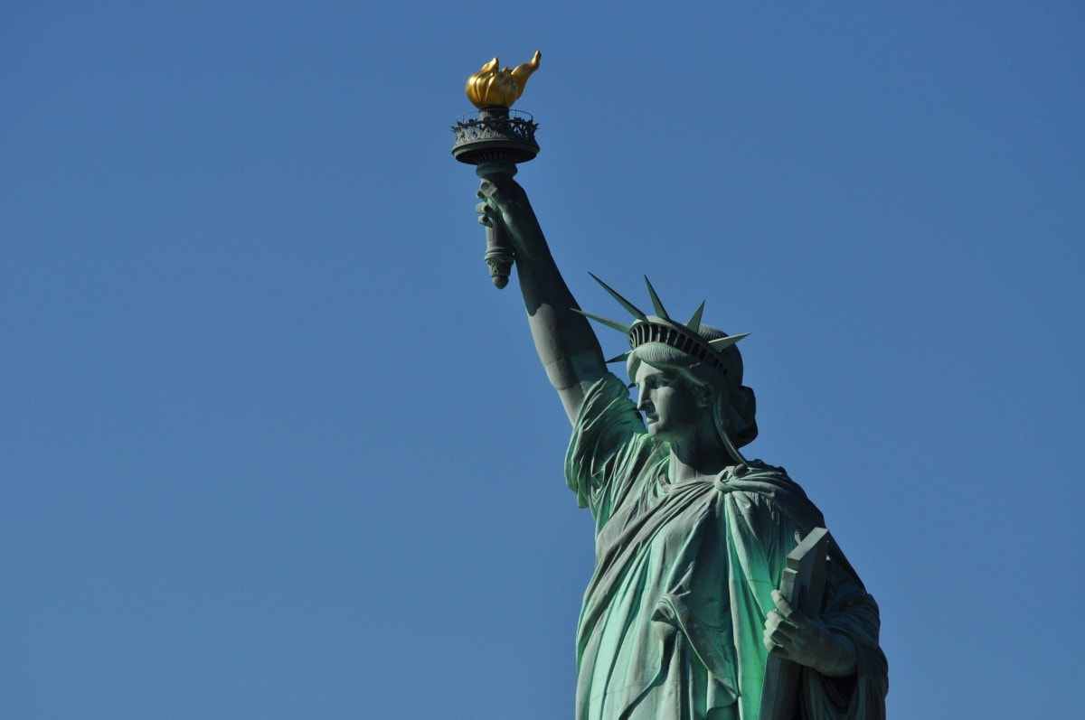 Landmarks in America - Statue of Liberty