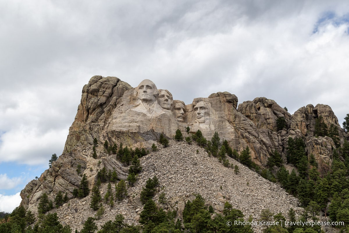 Mount Rushmore - one of the United States monuments