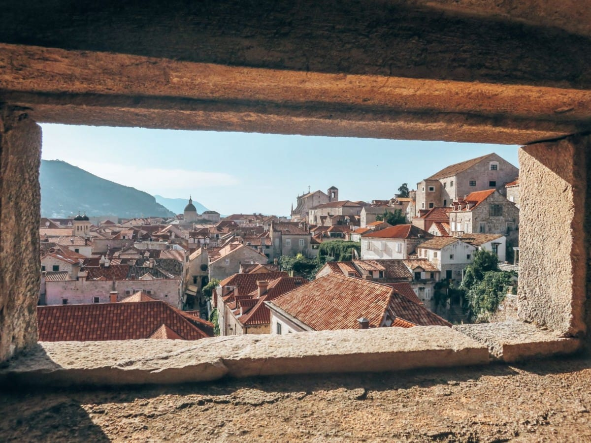 10 days in Croatia itinerary - Dubrovnik City Walls View