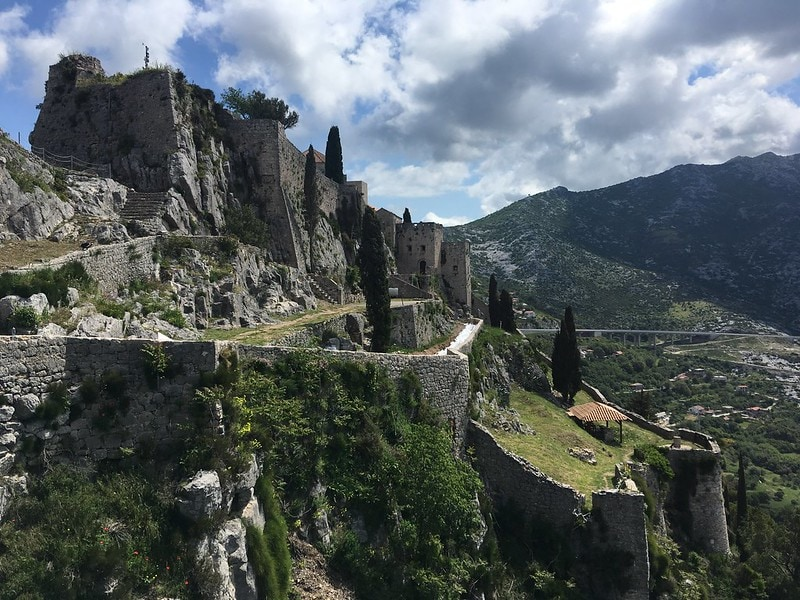 10 days in Croatia itinerary - Klis Fortress