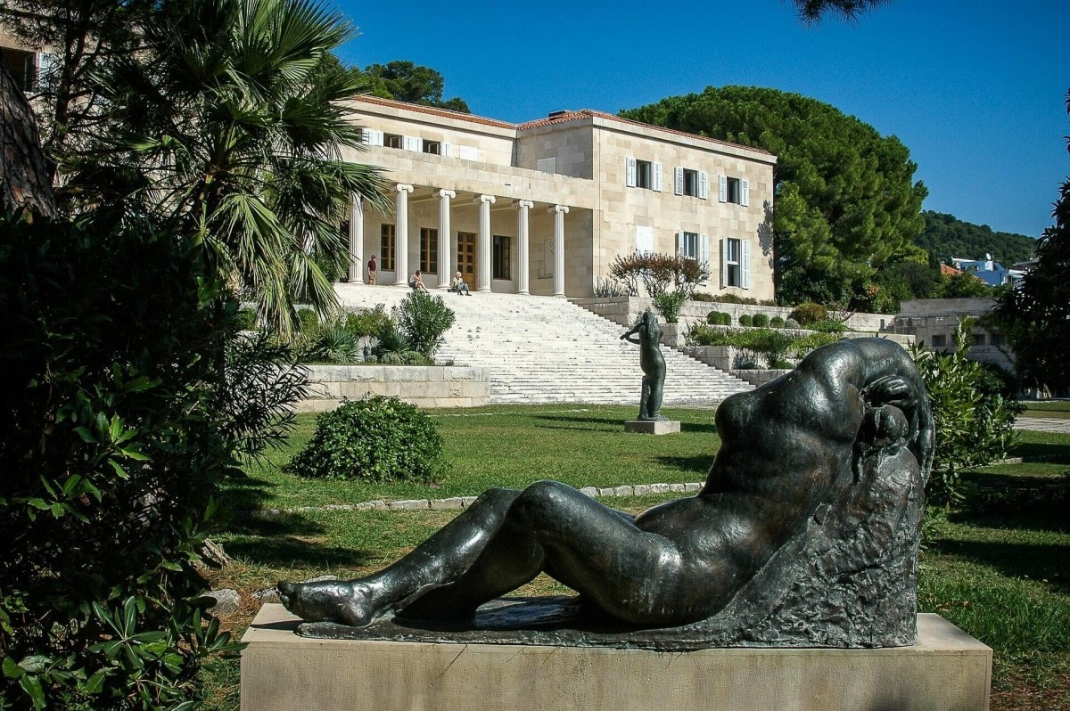 10 days in Croatia itinerary - Mestrovic Gallery