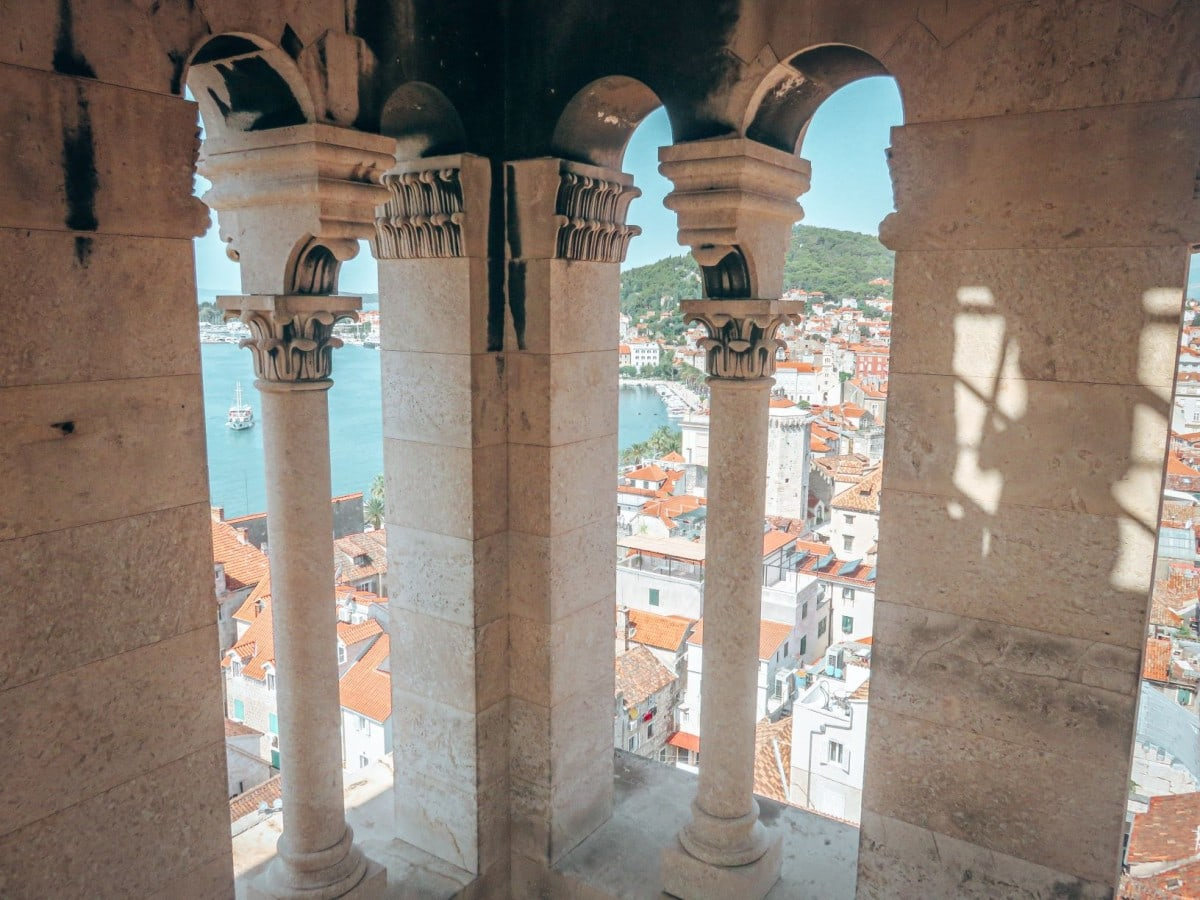 Croatia itinerary 10 days - St Domnius Bell Tower