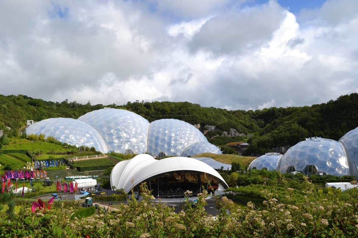 Famous landmarks in England - Eden Project
