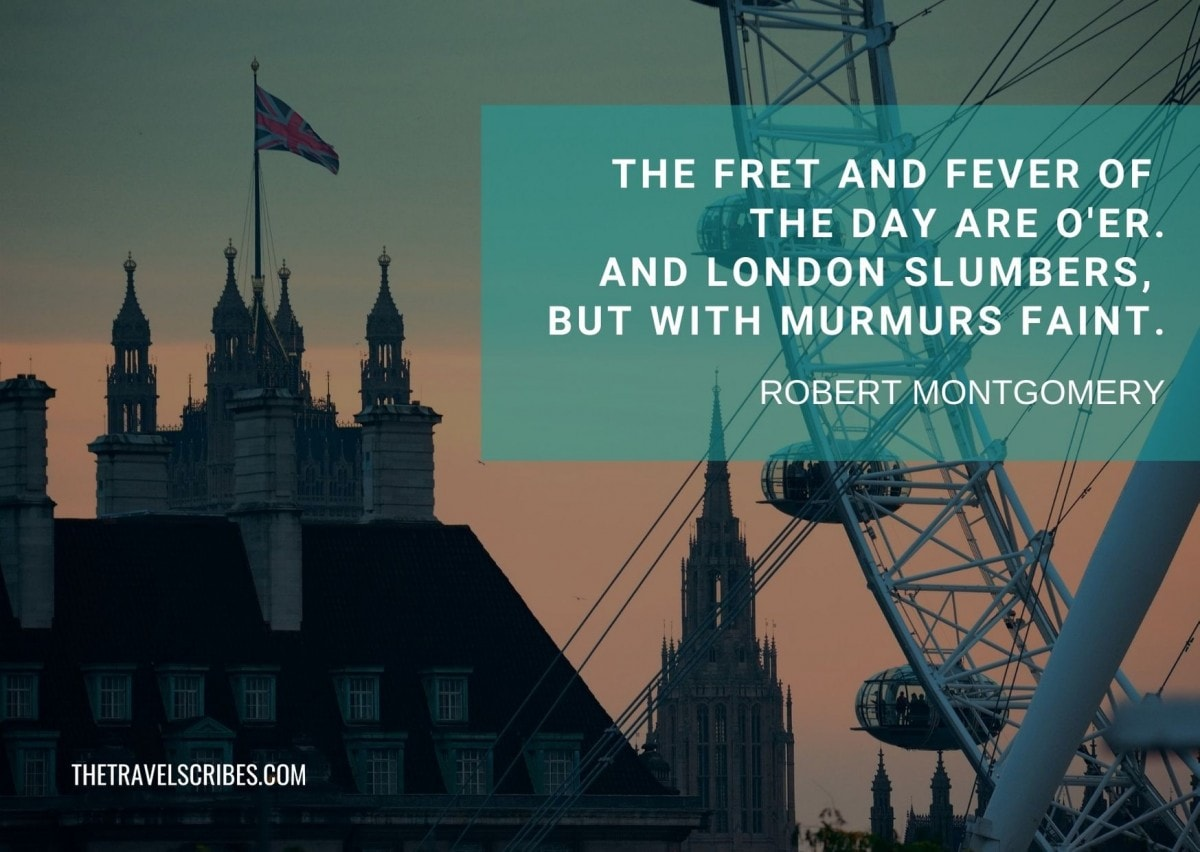 London Eye quotes - Robert Montgomery