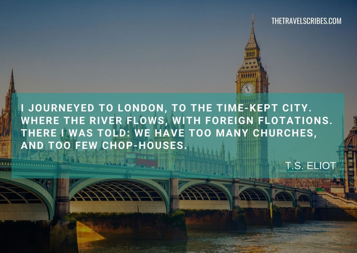 London quotes poem - TS Eliot