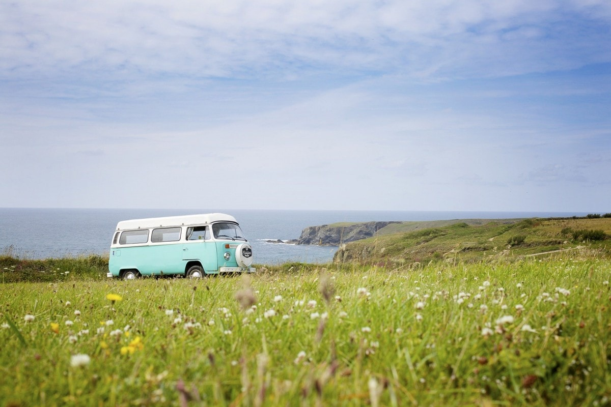Driving in cornwall - finding the perfect camping spot