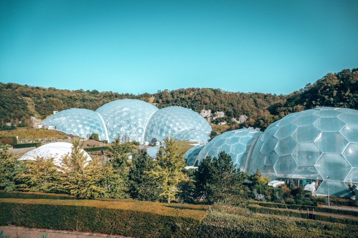 Eden Project - part of the perfect Cornwall itinerary by train