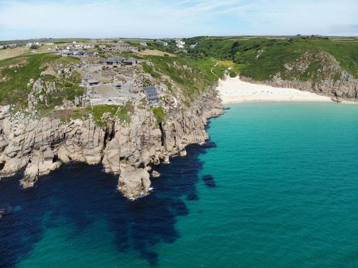 Cornwall itinerary from London - check out the Minack Theatre