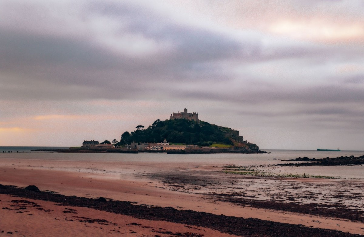 Weekend road trips from London - St Michaels Mount in Cornwall