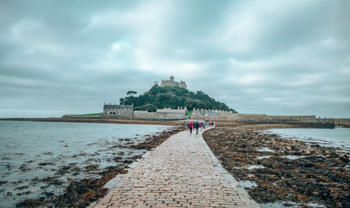 Day trips from St Ives - visit St Michaels Mount