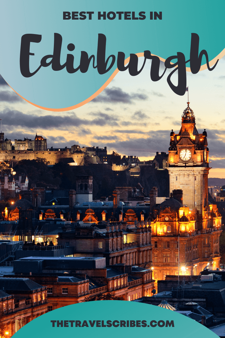 All the best hotels in Edinburgh on a budget